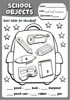 English Activities For Kids, Teach English To Kids, English Worksheets For Kids, Preschool Learning Activities, Preschool Worksheets, Learn English, Teaching Kids, Multiplication Worksheets, Alphabet Worksheets
