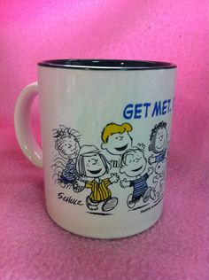 Shop for snoopy on Etsy, the place to express your creativity through the buying and selling of handmade and vintage goods. Metlife Snoopy, Peppermint Patties, But First Coffee, Peanuts Gang, Mug Cup, Little Red, Pigs, Charlie Brown, Coffee Cups