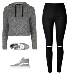 """""""Untitled #30"""" by divaqueen373 on Polyvore featuring Topshop and Vans"""
