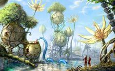 Fantasy Landscape Wallpaper Dekstop