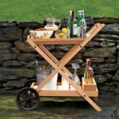 Let the drinks begin with these step-by-step instructions for an easy-to-build bar cart! |  Photo: David Prince | thisoldhouse.com