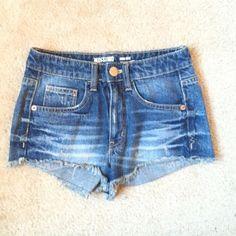 NWOT high waisted shorts Denim *not hollister Hollister Shorts Jean Shorts