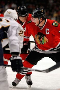 Chicago Blackhawks.  Red.  Black.  Cool logo on the front and on the shoulders.  Hard to top.