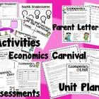 This is no ordinary Economics Unit!  This 3-4 week unit combines interactive smartboard lessons and other activities to teach Economic concepts.  T...