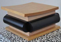 Maison de ventes aux enchères en ligne Catawiki: Ettore Sottsass for ACME Studio Inc. – A wooden storage box – Unica / One-Off – including email communication about authenticity etc.