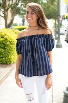 If you haven't noticed, the off the shoulder trend is certainly taking the…