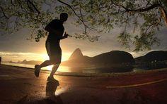 corrida atleta Rio de Janeiro caminha  (Foto: Guilherme Leporace / Ag. O Globo)