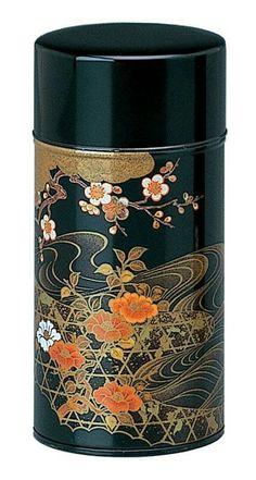 Japanese tea tin Jstyle.com.au