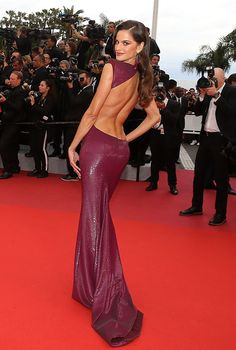 Izabel Goulart, Backless Dresses, Victoria Secret Fashion Show, Cannes Film Festival, Rear View, Pretty Girls, Victoria's Secret, The Incredibles, Future