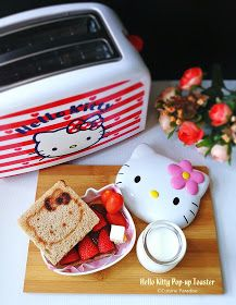 Cuisine Paradise | Singapore Food Blog | Recipes, Reviews And Travel: Hello Kitty Brunch, Hello Kitty Pop-Up Toaster plus Giveaway