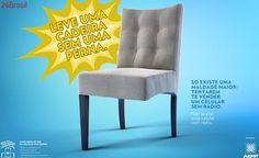 Você compraria uma cadeira sem uma perna? Campanha quer estimular a compra de celulares com rádio