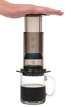 AeroPress Coffee and Espresso Maker -- Makes the best coffee ever!