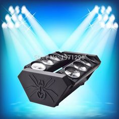 149.00$  Buy now - http://ali5ua.worldwells.pw/go.php?t=32591232942 - 8x10W Cree RGBW LED moving head beam Spider light party bar disco DJ FREE shipping 149.00$