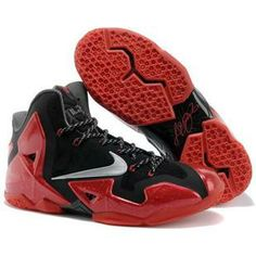 "95a46882e800 Discover the Nike LeBron 11 ""Away"" Black Metallic Silver-University Red-Bright  Crimson-Dark Grey Authentic group at Pumarihanna. Shop Nike LeBron 11  ""Away"" ..."