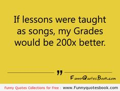 Funny Quotes about lessons