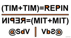 TIM - R#PIN - @SdV