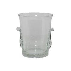 Light & Living – Weinkühler.  Weinkühler aus klarem Glas, wie ein ICE CUBE.  In diesem edlen Weinkühler, oder ist das doch ein Sektkühler?, wird Wein und Sekt stilvoll gekühlt und serviert.        Material: Glas Farbe: transparent Größe: 24x24x21 cm Form: Rund