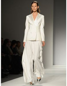 Very loose, flowing pants from Max Mara.