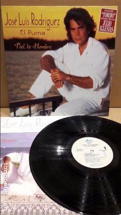 JOSÉ LUIS RODRIGUEZ. PIEL DE HOMBRE. LP / EPIC - 1992 / LEVES MARCAS. ***/***