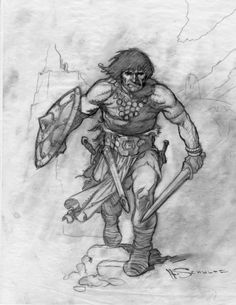 Conan Comic Art