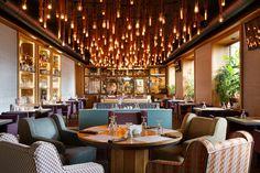 Ресторан КАРЕ - Лучший интерьер ресторана, кафе или бара   PINWIN - конкурсы для архитекторов, дизайнеров, декораторов