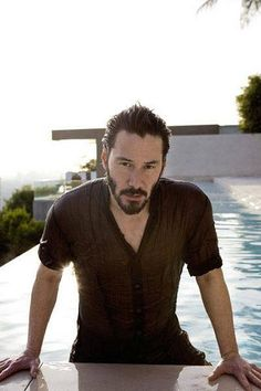 Keanu Reeves - this man has my ♥. Keanu Reeves John Wick, Keanu Charles Reeves, Keanu Reeves House, Keanu Reeves Zitate, Keanu Reeves Quotes, Keanu Reaves, Little Buddha, My Sun And Stars, Attractive Men