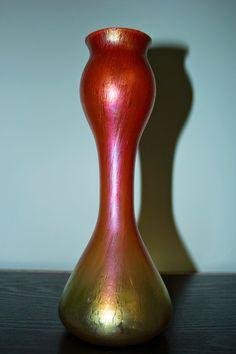 Rindskopf Grenada Decor Art Nouveau Vase (Circa 1900)