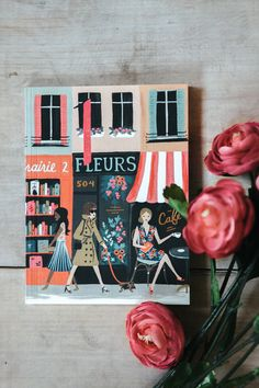 Parisian notebooks from Rifle Paper Co. and Paper Crown have us in love!