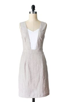 $35 Savanna Dress in Almond - Fleet Collection