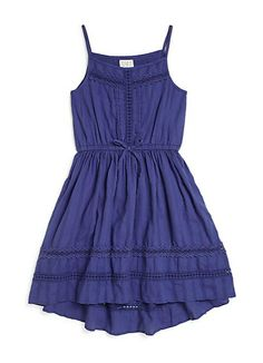 Ella Moss Girl | Toddler's & Little Girl's Hailey Cotton Jacquard Sundress | SAKS OFF 5th