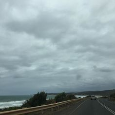 It's a bit gloomy on the #greatoceanroad today. by jacandthewolf