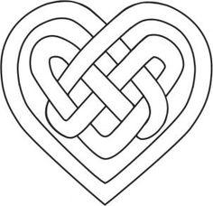 How to Draw a Celtic Knot, Step by Step, Symbols, FREE Online Drawing Tutorial Celtic Quilt, Celtic Symbols, Celtic Art, Celtic Heart Knot, Celtic Knots, Motifs Art Nouveau, Culture Art, Pop Culture, Celtic Knot Designs
