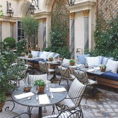 Ralph Lauren in Paris for brunch