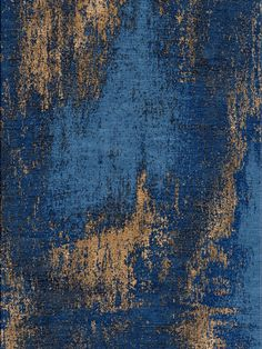Washed Denim - Copper Rug | Bazaar Velvet | London Rugs
