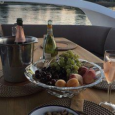 Dinner on boat
