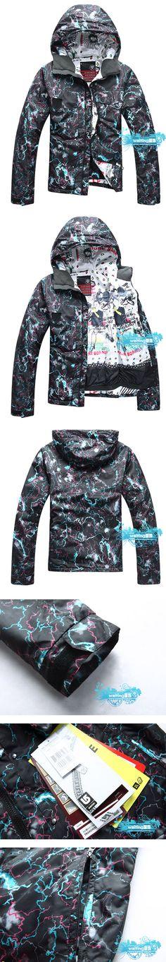 Quality sportswear collection burton snowboard jacket, black, winter, cold, - proof waterproof coat