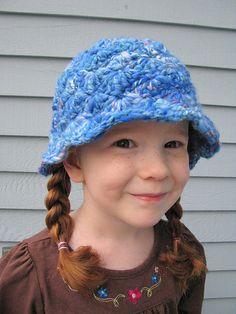 Shady Fibers SWM Handspun crocheted hat by monetb56, via Flickr