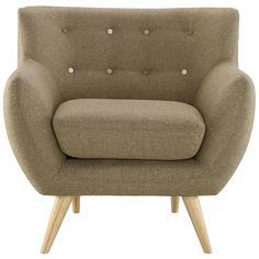 REMARK ARMCHAIR IN GRAY - Mocofu