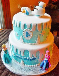 Plus de gâteaux pour les enfants - La reine des neiges