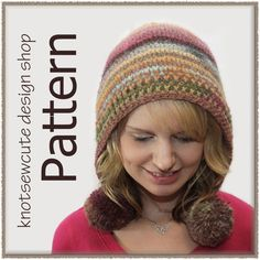 Skill Level: Easy    You can crochet this fun, simple pompom hood!!! If you are comfortable with post stitches, and working in the round then you