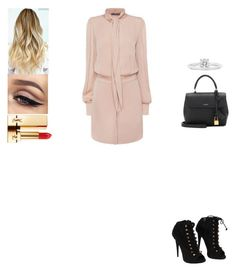 """""""Untitled #594"""" by insafsat on Polyvore featuring Alexander McQueen, Giuseppe Zanotti, Yves Saint Laurent and Cartier"""