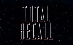 Total Recall (1990) Opening Slide