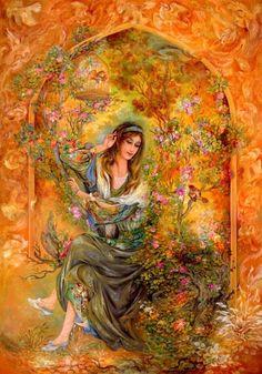 Farshchiyan Махмуд - съвременен ирански художник   Религия и духовност
