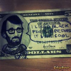 Hipster Abe