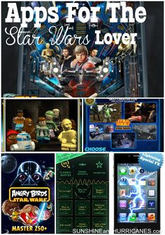 Get ready to thrill the Star Wars lover in your life with these fun and amazing apps! From emojis to games, trivia and insider information, you'll be ready for the newest movie, The Force Awakens. Apps For The Star Wars Lover