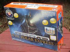 LIONEL TRAIN SET # 6-31960 POLAR EXPRESS EMPTY BOXES ONLY