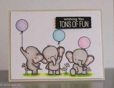 MFT Adorable Elephants #myfavoritethings, #adorableelephants, #simonsaysstamp, #copicmarkers, #cardmaking