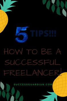 Learn How to be a successful freelancer and earn thousands of dollars each month! #freelancing #freelancingtips #freelancingforbeginners