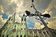 Basílica de San Sebastián en Manila, Filipinas.