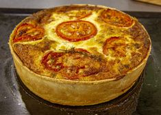 Get your quiche right with this masterclass recipe from James. He's used bacon, tomatoes, cheese and onion in his filling but you can add whatever you like! Uk Recipes, Pastry Recipes, World Recipes, Cooking Recipes, British Recipes, Scottish Recipes, Tart Recipes, James Martin, Bakewell Tart